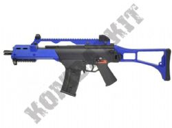 M809F G39 Electric Auto AEG Airsoft BB Machine Gun Black and Blue